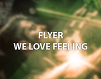 Flyer We Love Feeling