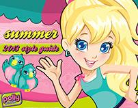 (Mattel) Polly Pocket Style Guide - Summer Resort