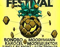 Poster illustraties Source Festivals