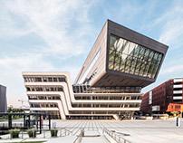 Zaha Hadid, Library and Learning Center. Vienna.