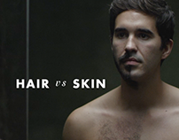 GILLETTE - HAIR VS SKIN