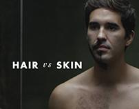 GILLETTE - HAIR VS SKIN