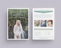 W A N D E R E R S Wedding Flyer & Price List