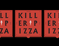 Killer Pizza Brand Identity