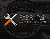 FABRI-Pair - Website Design Draft