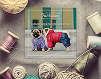 """catalog of clothing for dogs """"PetFashion"""""""