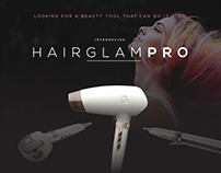 Hair Glam Pro: Web Development Work