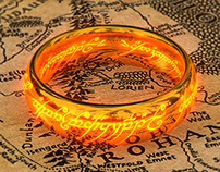 3D - Lord of The Rings - One Ring