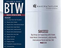 Baker & Taylor // Editorial