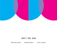 """Abstract """"She's the Man"""" Poster"""