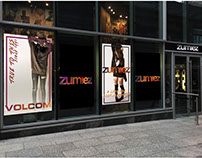 Mock Zumiez Fall Ad Campaign