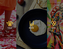 Website design and development for YogaFoodLove