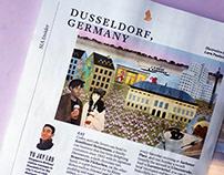 Düsseldorf for SilverKris Magazine