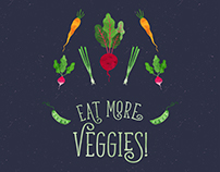 Eat more Veggies!