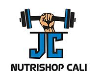 logo y tarjeta Nutrishop cali
