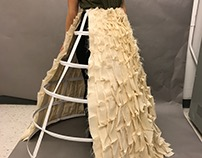Sculptural Skirt- In Process