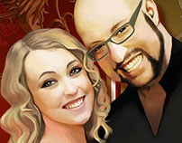 Wedding invitations: Pablo and Elena