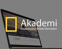 Akademi Gayrimenkul / Website