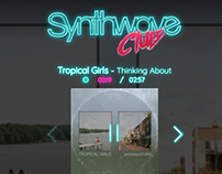 Synthwave Club - Website
