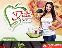 Diéta Pizza arculat