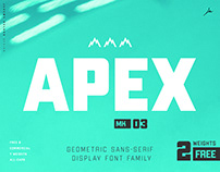 APEX MK3 | Display Font Family - Two FREE Weights