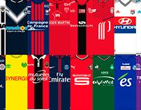 Guía de camisetas de la Ligue 1
