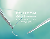 Ethicon Surgical Suture - Print Ad