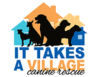 It Takes a Village Canine Rescue Logo