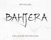 Bahjera - Brush Font