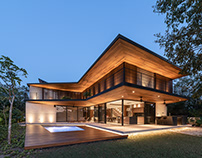 GP House in Mexico by OWN + Felipe Caboclo Architecture