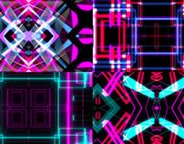 Techno Line - VJ Loop Pack (4in1)