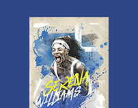 Serena Williams Illustration