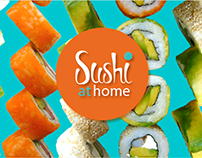 SUSHI AT HOME // branding refresh