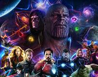 Avengers 4 Endgame Fan poster.