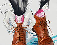 Bloomberg Pursuits, Spend Magazine Illustrations