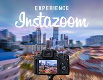 Canon Instazoom - The first zoomable photo on Instagram