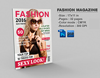 Fashion Photography Magazine Template | 32 Pages