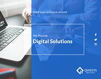 Digital Solutions - UI Design
