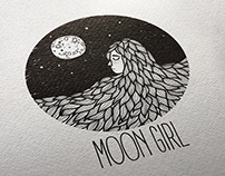 Brand Illustration - Moon Girl