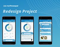 Myfitnesspal Redesign Project