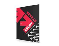 Neville Brody Typographic Catalog