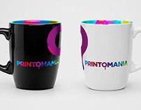 Printomania - logo design