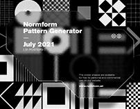 Generative Patterns / July 2021