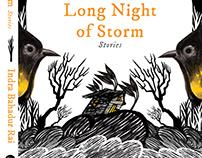 "Cover art for Indra Bahadur Rai's ""Long Night of Storm"""