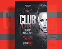 Nightclub Flyer Template - Photoshop PSD