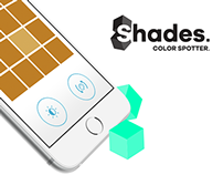 2015: Shades. Color Spotter. - mobile game