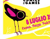 Crema Comics & Games Poster
