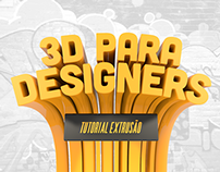 Cinema 4D - Tutorial Extrusão