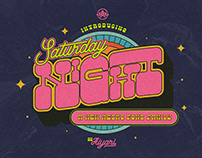 Saturday Night Font Family (Retro Font)