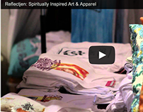 Video: Reflectjen® Spiritually Inspired Art & Apparel